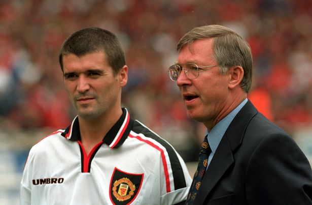 Roy Keane fell out with Sir Alex Ferguson before leaving Manchester United in 2005