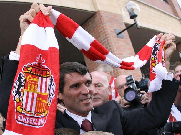 Roy Keane managed Sunderland and Ipswich Town