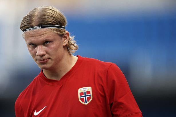 Erling Haaland has scored seven goals in 12 caps for Norway