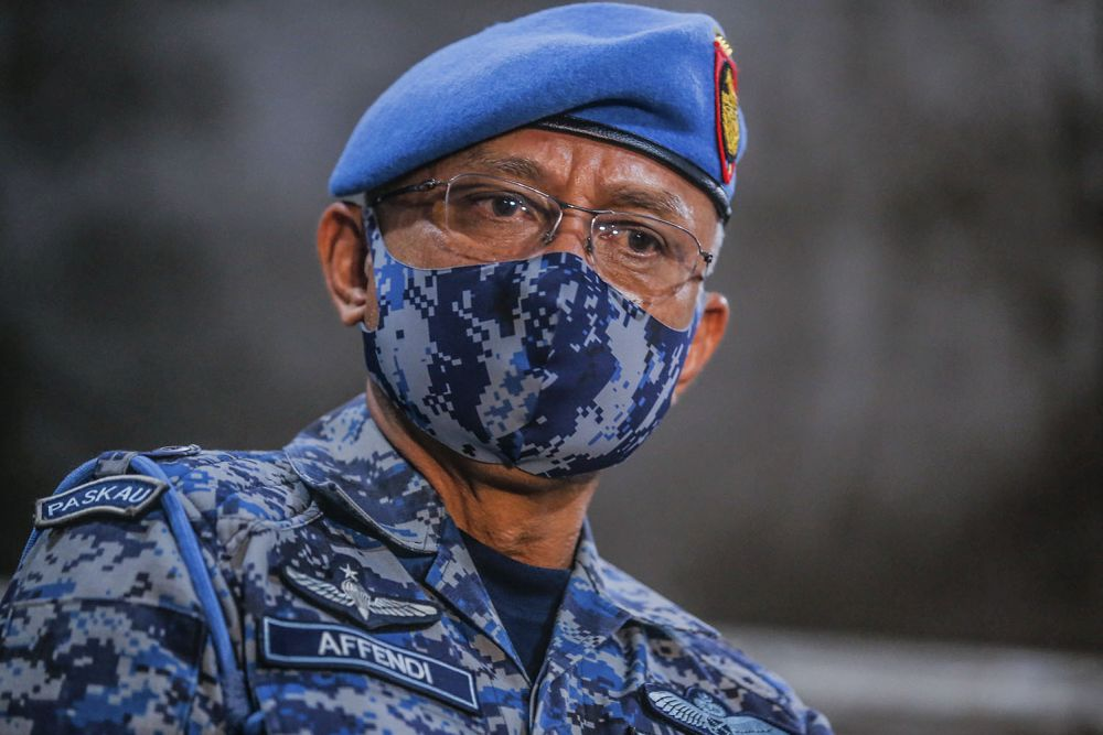 Armed Forces chief General Tan Sri Affendi Buang said the budget was important so that maintenance and procurement of new replacement assets and obsolete armaments could be realised to ensure high-preparedness of the security forces to defend the country's sovereignty. — Picture by Hari Anggara