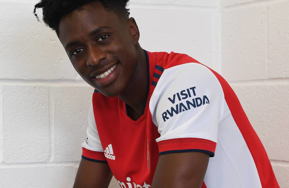 Albert Sambi Lokonga is Arsenal's second signing of the summer following the arrival of defender Nuno Tavares from Benfica this month. — Picture from Arsenal.com