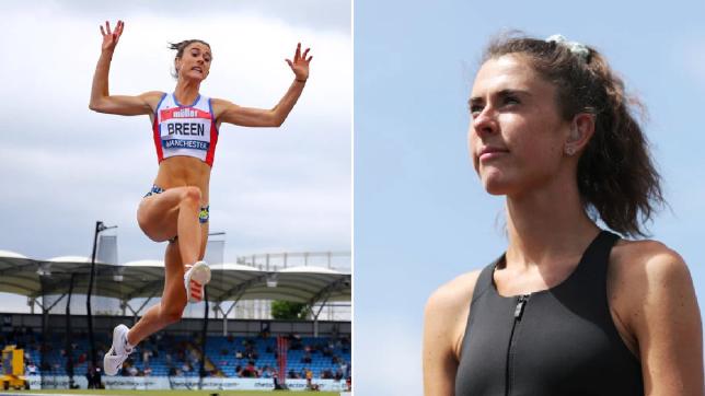 British Paralympian Olivia Breen was told her sprint briefs were 'too short'