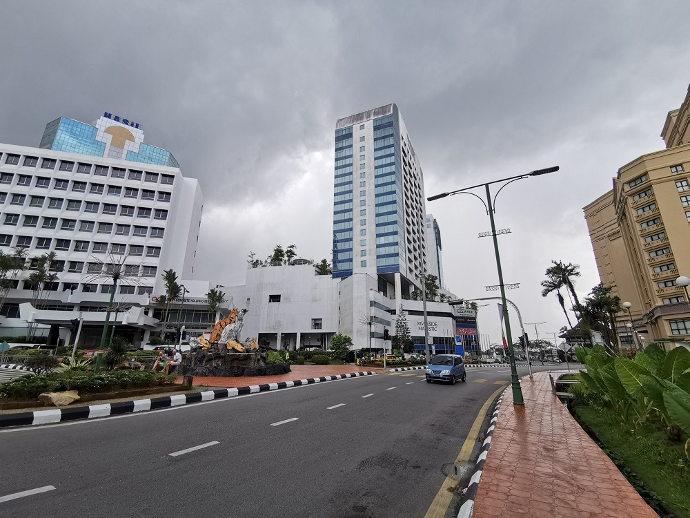 File photo showing Kuching city. — Borneo Post Online pic