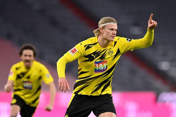 Erling Haaland faces a decision over his Borussia Dortmund future