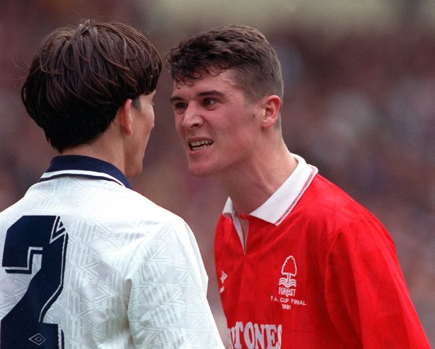 Roy Keane began his career at Cobh Ramblers before joining Nottingham Forest