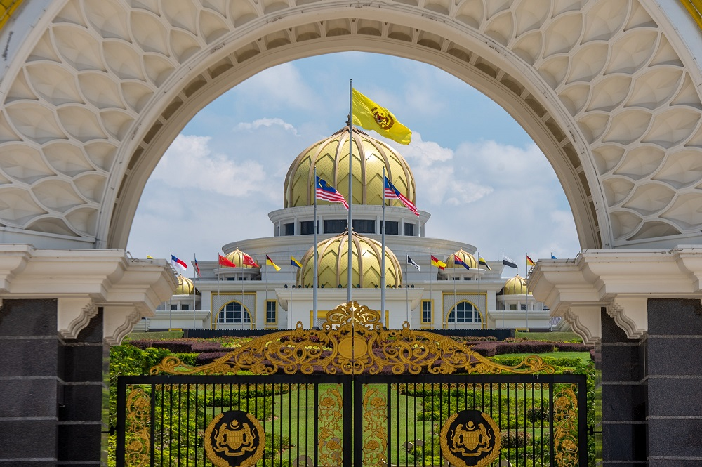 In a statement issued via Istana Negara's official Facebook page today, Their Majesties extended Aidiladha greetings to all Muslims in Malaysia and abroad. — Picture by Shafwan Zaidon