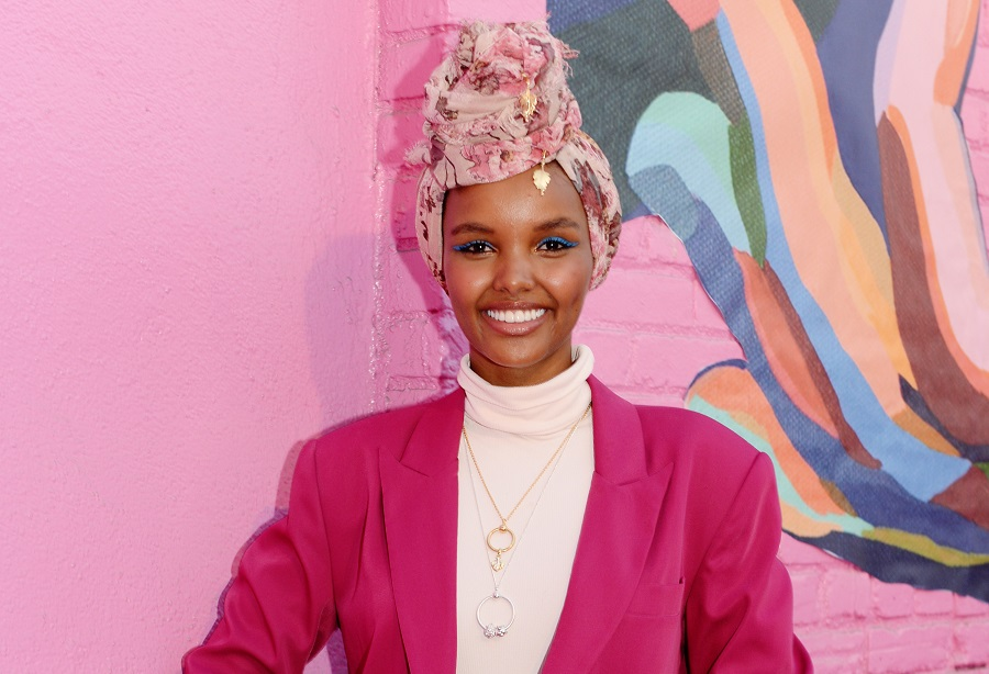 Model Halima Aden executive produced the film 'I Am You.' (File/ Getty Images)