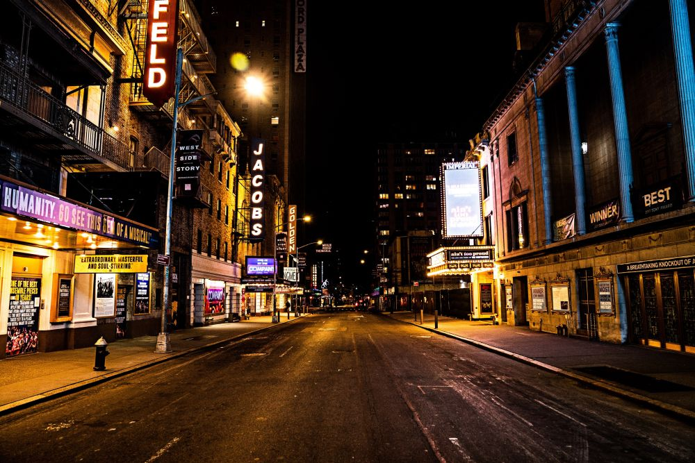 Broadway, which closed when coronavirus first swept New York in spring last year, is due to fully reopen in September. — Picture via ETX Studio