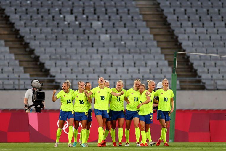 Olympics: Sweden's women stun US with 3-0 thrashing in ...