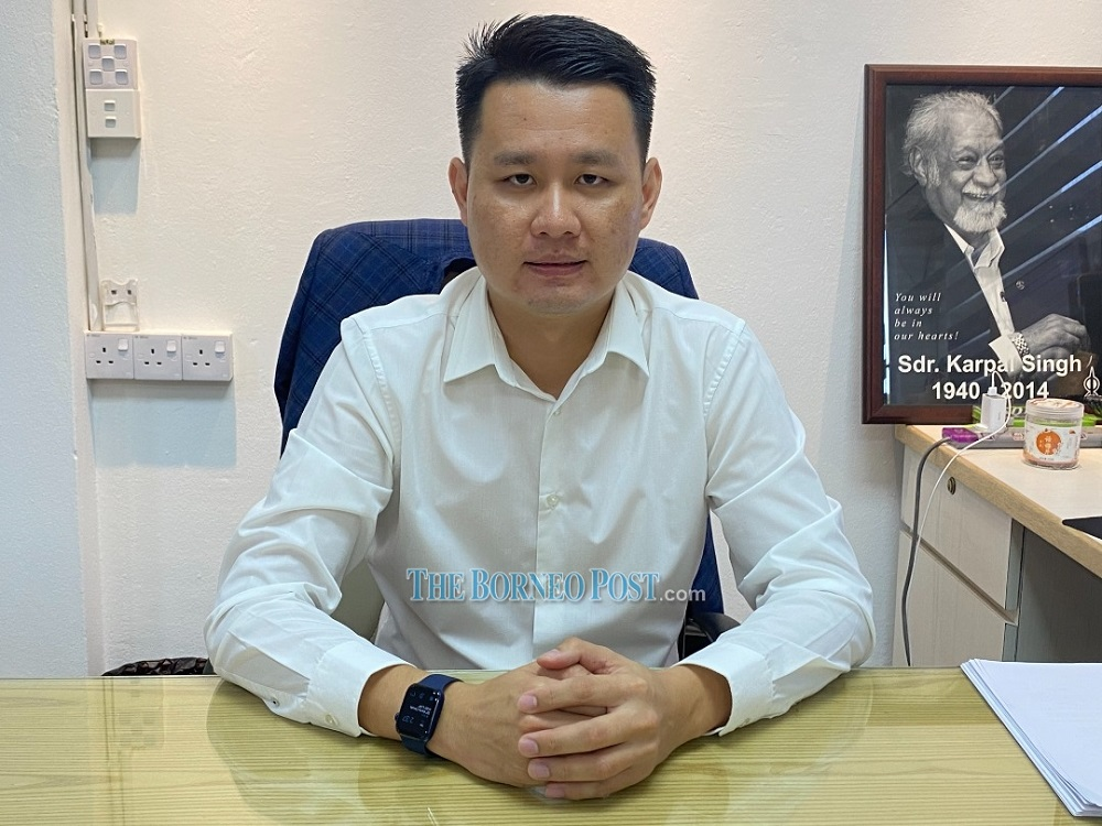 Senator Alan Ling said the state government under Gabungan Parti Sarawak should not hold the state election this year as the country is still battling the Covid-19 pandemic. — Borneo Post Online pic