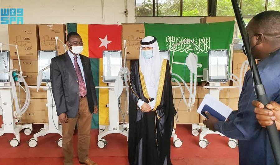 KSrelief aids Togo to fight COVID-19. (SPA)