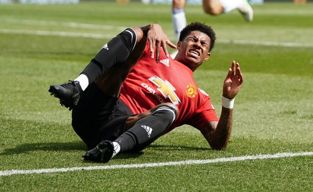 Rashford has been suffering with the injury