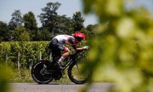 UAE Team Emirates rider Mikkel Bjerg.