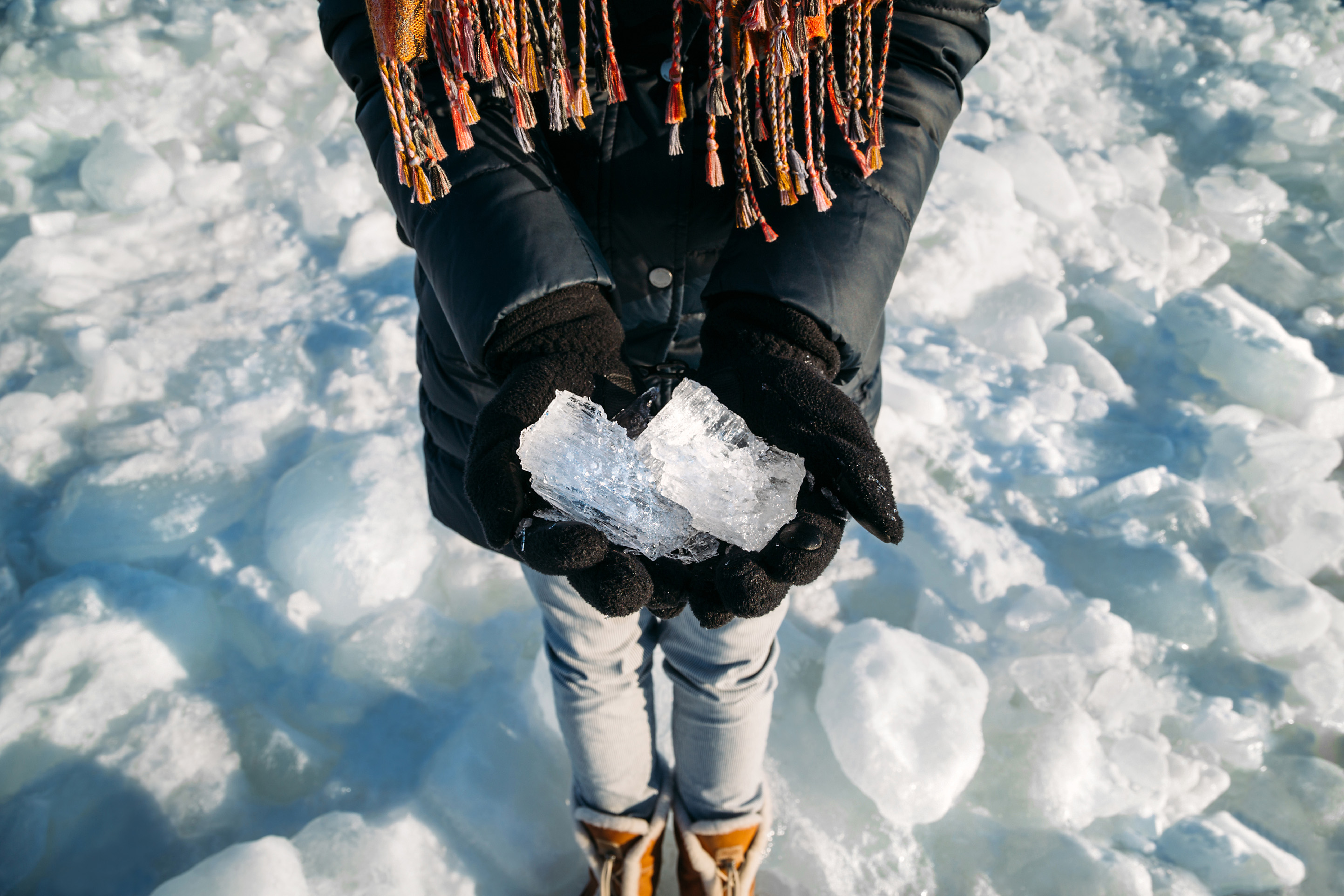 Scientists in China have created a new flexible form of ice. — Photography IB photo / Getty Images via ETX Studio