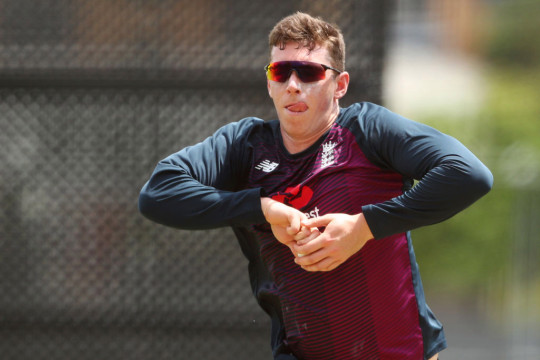 Dan Lawrence could provide a spin option for England against India
