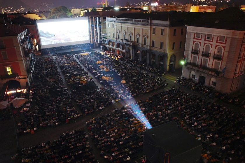 Held on the shores of Lake Maggiore, in the Italian-speaking Ticino region of southern Switzerland, films are screened in Locarno's central square before up to 8,000 people. ― AFP pic