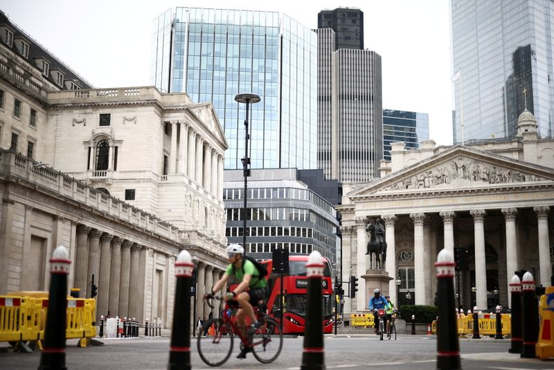 UK public inflation expectations jump in July - Citi/YouGov