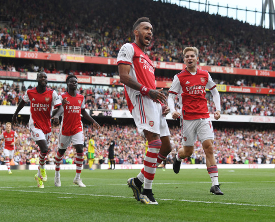 Pierre-Emerick Aubameyang's goal sealed Arsenal's 1-0 win over Norwich City on Saturday