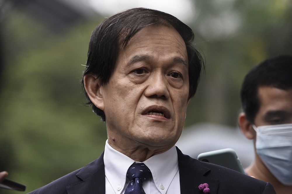 On Thursday last week, Hisyam Teh Poh Teik had also addressed the court on Datuk Mohd Jimmy Wong Abdullah's cheques — which were linked to around 12 of the 27 money-laundering charges against Datuk Seri Ahmad Zahid Hamidi — and which were placed by Lewis & Co in fixed deposits together with cheques from other companies and individuals. ― Picture by Miera Zulyana