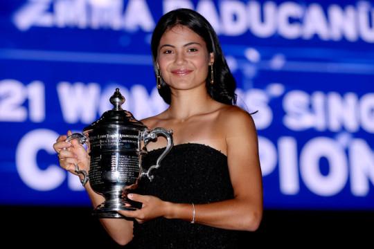Emma Raducanu has shot up to world No.23 following her success at Flushing Meadows