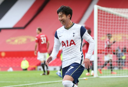 Tottenham star Son Heung-min reveals he supported Manchester United as a kid