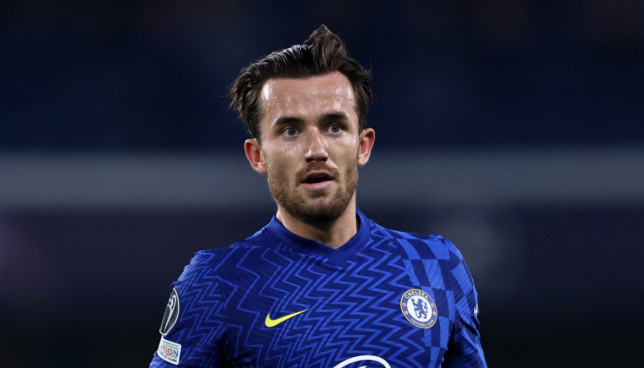Ben Chilwell has played just seven minutes for Chelsea this season