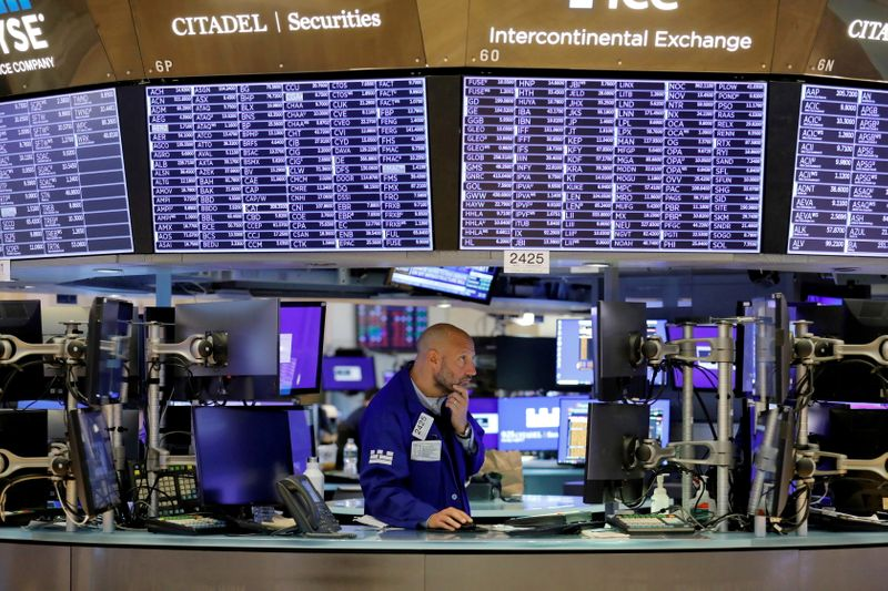 Analysis-Stimulus-pumped stocks at risk as warning signals flash red