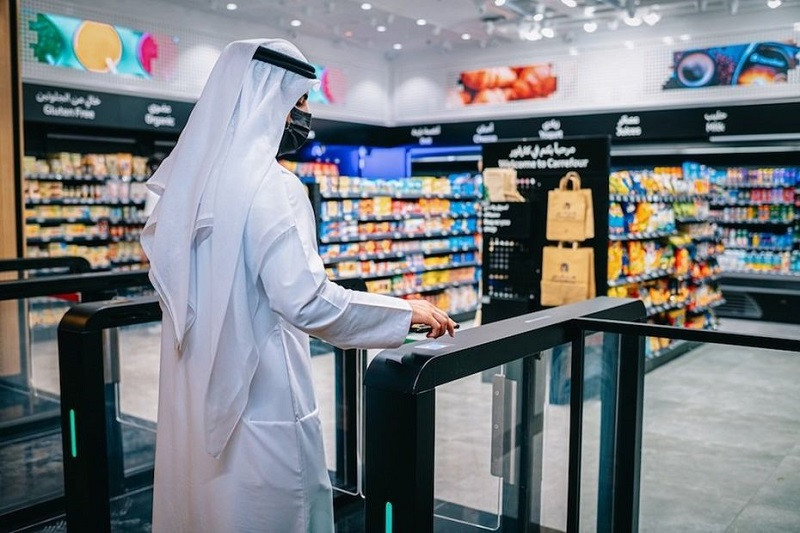Carrefour has opened its first checkout-free store in Dubai. — Picture by Majid Al Futtaim via ETX Studio