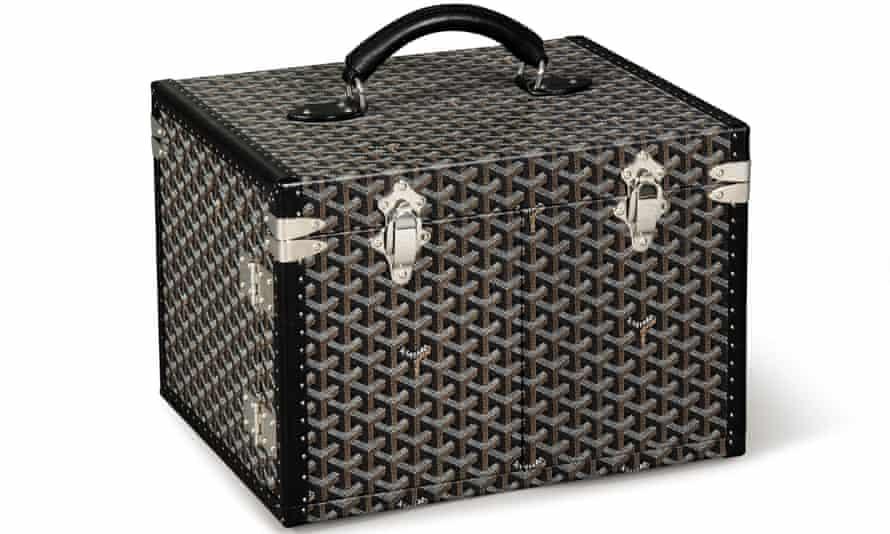 A Maison Goyard jewellery box.