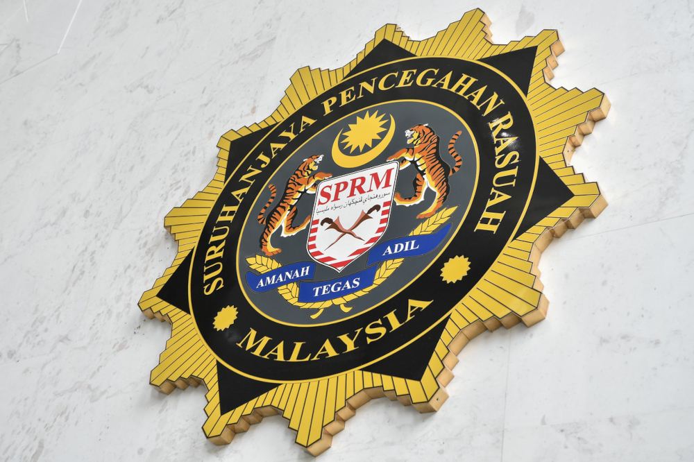 According to a source, both the suspects, aged 37 and 40, were arrested at about 2.30pm in a restaurant in Putrajaya. — Bernama pic