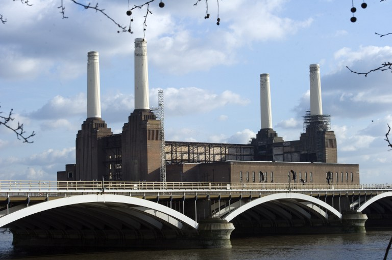 A general view shows Battersea power station in London on February 26, 2012. — AFP pic