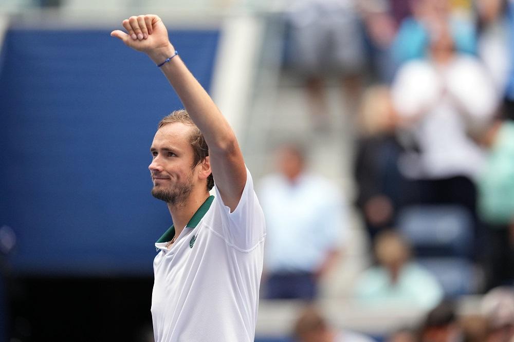 US Open champion Daniil Medvedev reached the fourth round at Indian Wells. ― Danielle Parhizkaran-USA TODAY Sports via Reuters