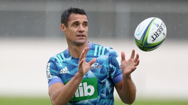 New Zealand great Dan Carter has hinted at a return to rugby after retiring earlier in 2021