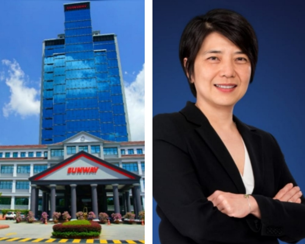 Sunway Group is recognised as one of Malaysia's most attractive employers and it has rolled out a comprehensive, ongoing communication, educational, health and wellness campaign to address the welfare of its employees. On the right is Sunway Group's chief human resources officer Foo Shiang Wyne. — Picture courtesy of Sunway Group