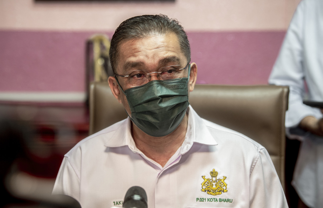 PAS secretary-general Datuk Seri Takiyuddin Hassan said the party was also open to any police investigation if there are reports lodged on the matter. — Bernama pic