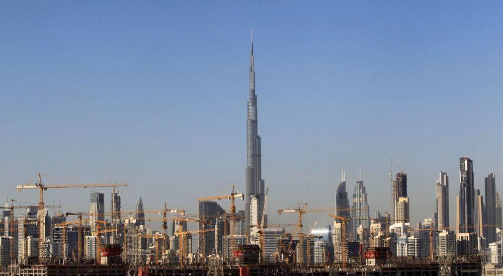 General view of Dubai's cranes at a construction site in Dubai, UAE, December 18, 2018. — Reuters pic