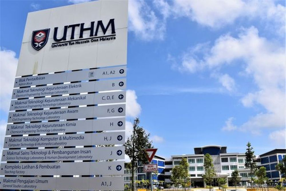 Universiti Tun Hussein Onn Malaysia (UTHM) vice-chancellor Prof Datuk Wahid Razzaly said UTHM would give priority to fully vaccinated students who needed to return to campus, especially new students and those in their final year. — Picture courtesy of viruspagoh.uthm.edu.my