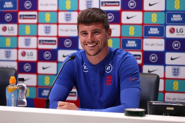 England midfielder Mason Mount.