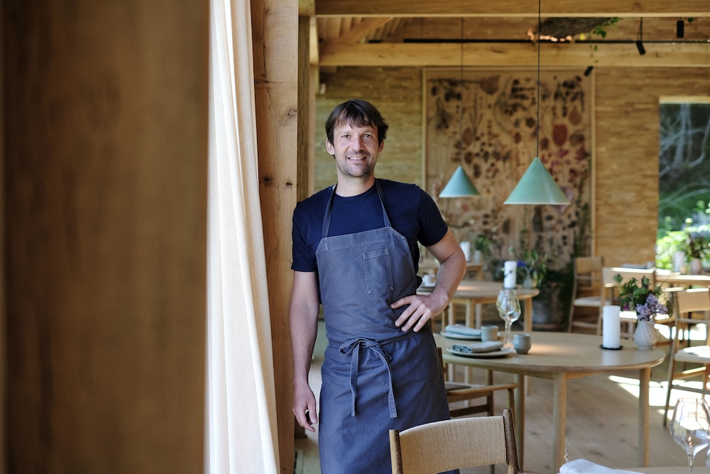 Rene Redzepi, chef and co-owner of the world class Danish restaurant Noma poses for a photo in Copenhagen May 31, 2021. — AFP pic