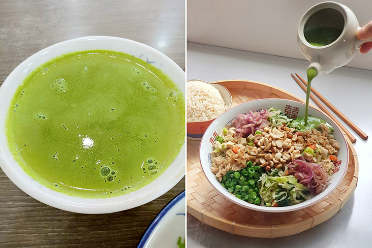 From green goodness to a colourful bowl of nutrition.