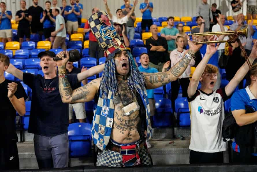 John Anthony Portsmouth Football Club Westwood has the opening lyrics to the Pompey Chimes tattooed on his stomach.