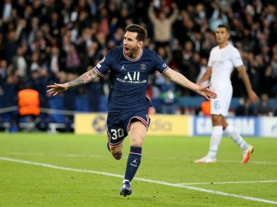 PSG star Lionel Messi