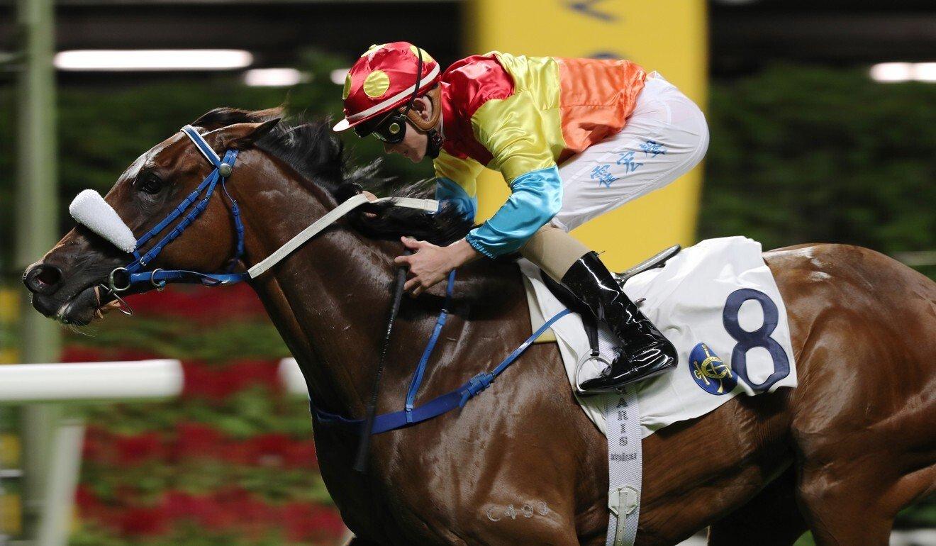 Luke Ferraris snares his first Hong Kong winner.