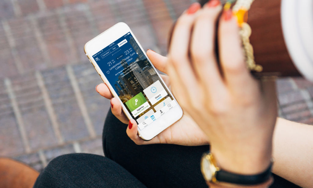 Hilton Honors - Mobile App on iPhone