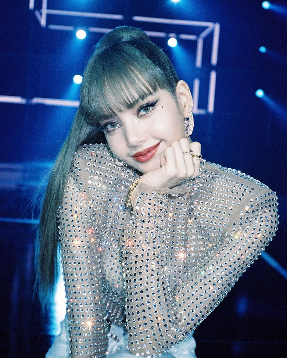 'Lalisa' is the most viewed YouTube music video by a solo artist in 24 hours with 73.6 million views.  —  Picture from Instagram/Lisa Blackpink