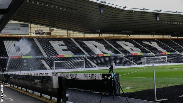 Pride Park has been home to Derby County since the Rams left The Baseball Ground in 1997