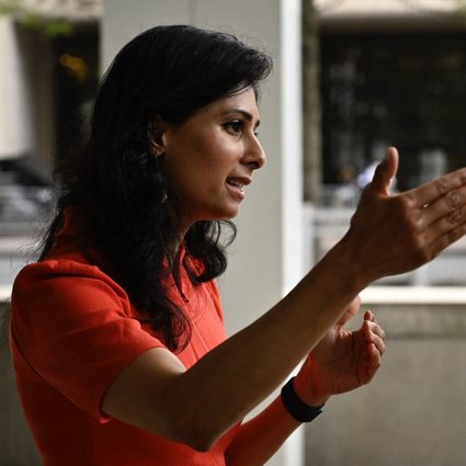 International Monetary Fund (IMF) chief economist Gita Gopinath said that despite a strong return in demand, 'the supply side has not been able to come back as quickly,' hampered in part by the spread of the Delta variant of Covid-19, which has made workers reluctant to return to their jobs. Photo: AFP