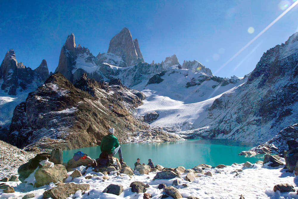 Heaven's Lake in Patagonia: The view at Laguna de Los Tres is worth hiking all day for. — Pictures by CK Lim