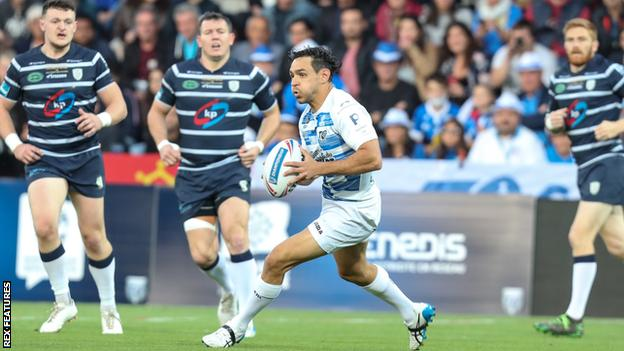 Toulouse full-back Mark Kheirallah kicked four penalties and three conversions for an individual 14-point haul