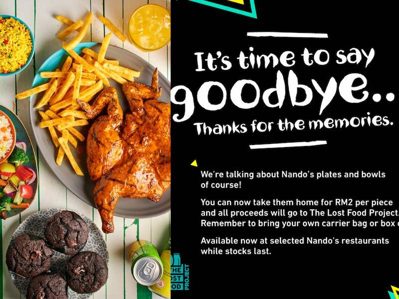 Popular South African fast food restaurant, Nando's Malaysia gave its loyal following a scare with its 'It's time to say goodbye' post. — Picture courtesy of Facebook/Nando's Malaysia